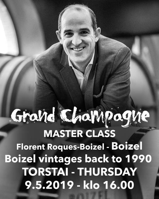 MC Florent Roques-Boizel To 9.5 klo 1600 - Master Class -luennot To 9.5.2019 - GCH19FR095K160 - 1